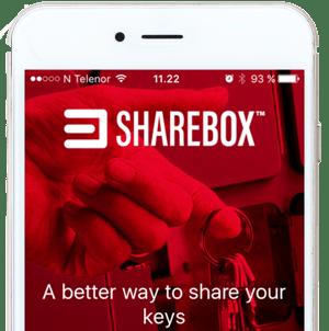 Sharebox app white phone (2)