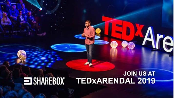 TEDxArendal Sharebox Gift Machine